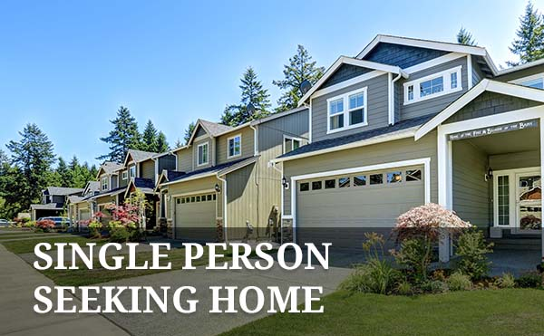 Should a single person buy a house for Single person house