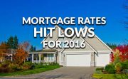 Lowest Rates In 16 Months Ellie Mae August 2016