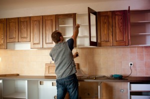 The FHA 203k program can be used to update a kitchen.