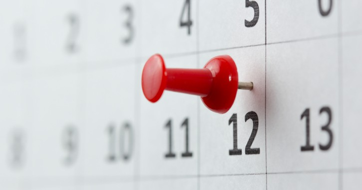 Home buying mortgage dates