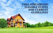 USDA Streamline Refinance Guidelines and Eligible State Chart