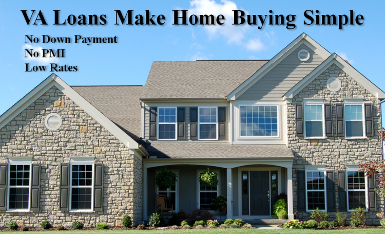 Va home loans easier first time home buying for Mortgage loan to build a house