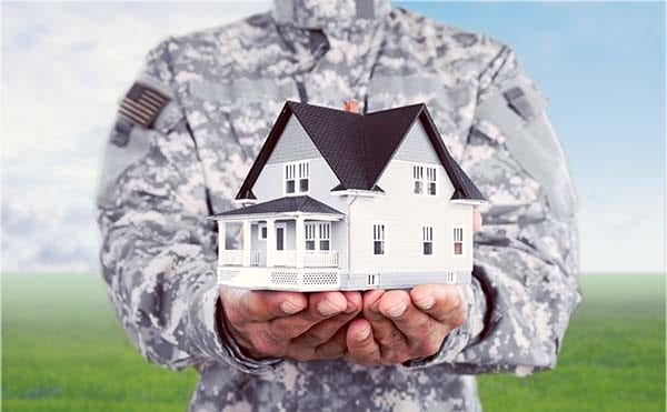 Using a 0 down VA loan to get a home