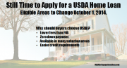 USDA home loans | Eligibility map changes