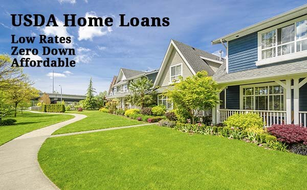 Usda home loans zero down eligibility qualification for Usda approved homes