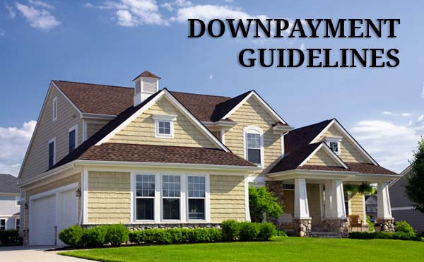 How much is a downpayment on a home?