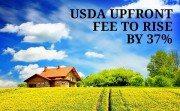 USDA upfront funding fee increase