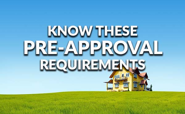 How to ger preapproved for a mortgage