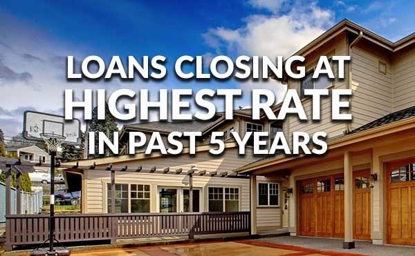 Loans more likely to close today than in past 5 years