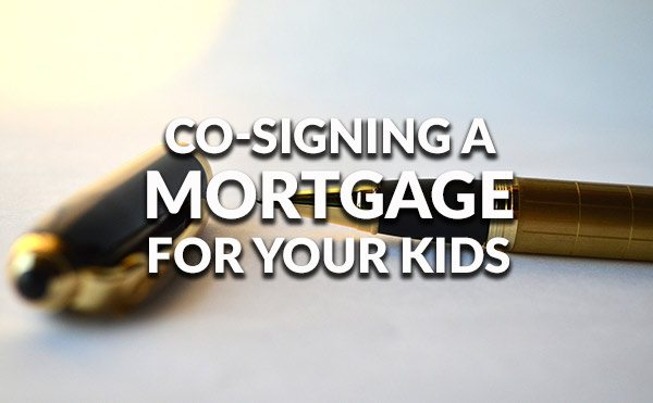 Is co-signing with your kids a good idea?