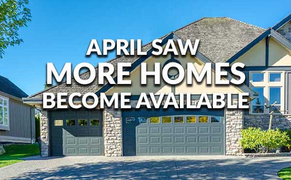 More Homes Available April 2016