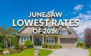 Low FHA Rates In June Ellie Mae
