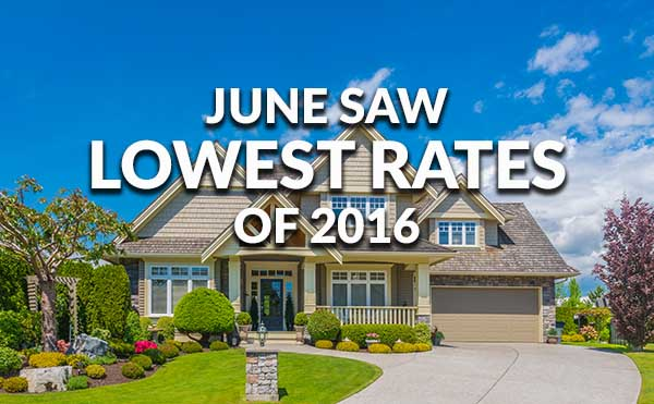 Low FHA Rates In June Ellie Mae