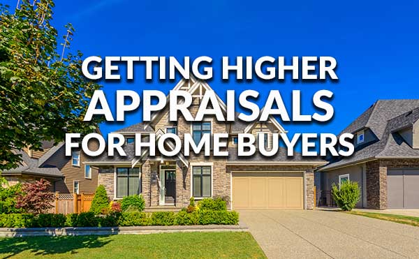 Home Appraised Higher Than Selling Price