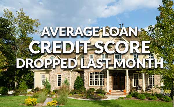 Ellie Mae November 2016 Credit Score Average Dropped