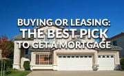 Buying or leasing a car prior to purchasing a home