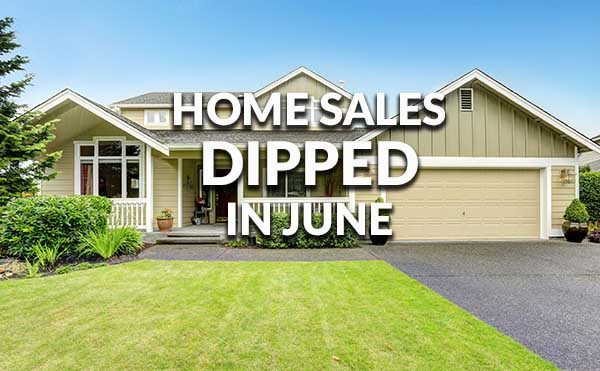 Existing Home Sales Dip, But Still Better Than One Year Ago