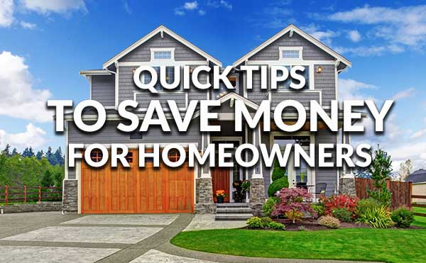 Things a New Homeowner Can Do Quickly to Save Money