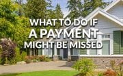 What should you do if you can't pay your mortgage