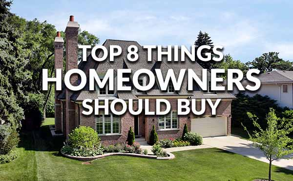 Top Things a New Homeowner Needs to Buy