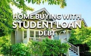 buying wtih student loan debt