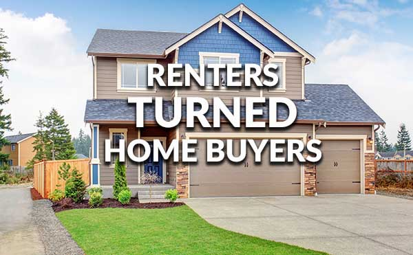 Successful renters that became buyers