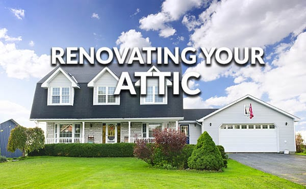 Tips for renovating your attic